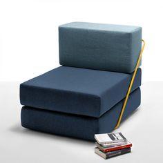 Modular seat/sofa bed (multiple colours)