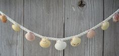 Shell Garland  Sea Shell Garland  Small Shell by madmarycreations, $15.00
