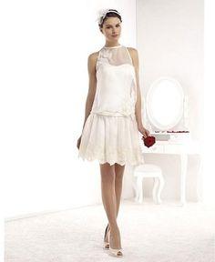 5 bonnes raisons de porter une robe de mariée courte