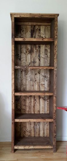 Kentwood Bookshelf | Do It Yourself Home Projects from Ana White #DoItYourselfWoodworkingProjects
