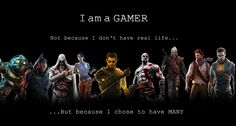 i am a gamer picture to download by Lester Cook (2016-11-26)