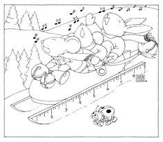Jingles free coloring page from Mary Engelbreit!