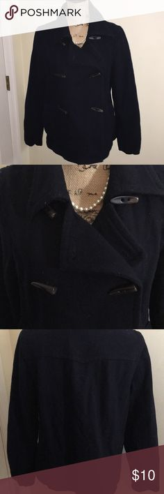 "• Old Navy Peacoat • ▪️ See Pics for Details - RePosh Little Too Big for Me - Lil fuzzy but with a good lent brush 👌🏻  ▪️Mother | Daughter Closet & Posh Ambassadors  ▪️Would you like a Discount? > Click on Box w/Up Arrow ⬆️ top right of this page > Click ""Add to Bundle"" and receive Private Offer from Us  ▪️Thank you for spending time in our closet   ▪️Thank you for sharing our items Old Navy Jackets & Coats Pea Coats"