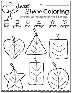Unit Fall Leaf Shapes Worksheet for Preschool.Fall Leaf Shapes Worksheet for Preschool.Preschool Unit Fall Leaf Shapes Worksheet for Preschool.Fall Leaf Shapes Worksheet for Preschool. Shape Worksheets For Preschool, Fall Preschool Activities, Shapes Worksheets, Preschool At Home, Free Preschool, Preschool Printables, Preschool Lessons, Preschool Classroom, Toddler Activities