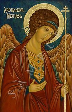 The Holy Archangel Michael. Byzantine Icons, Byzantine Art, Religious Icons, Religious Art, Madonna, Adorable Petite Fille, I Believe In Angels, Russian Icons, Art Icon