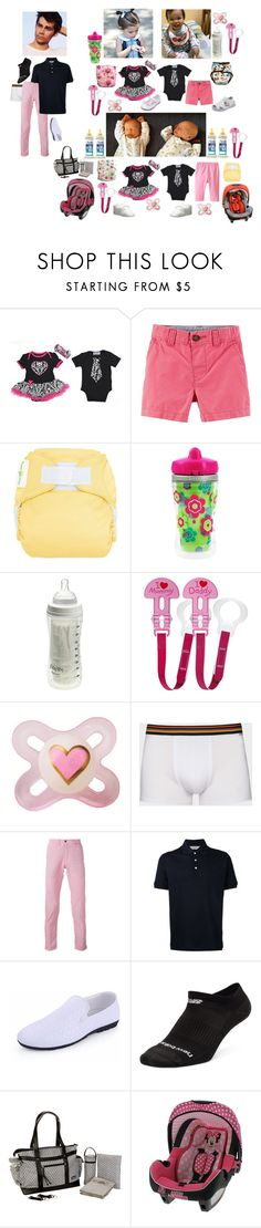"""""""Bambi's Birthday / Horan-Stiles  / 7/8/17"""" by imaginaryfamilies ❤ liked on Polyvore featuring Clayton, Playtex, Re-HasH, Gieves & Hawkes, New Balance, Kalencom, thehoranstilesfamily and BambisFirstBirthday"""