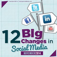 12 Big Changes In Social Media This Month (Nov 2014)