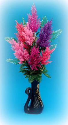 Одноклассники Seed Bead Flowers, French Beaded Flowers, Fake Flowers, Seed Beads, Beautiful Flowers, Beaded Flowers Patterns, Crochet Flower Patterns, Crochet Flowers, Beading Patterns