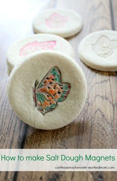 How to make salt dough magnets #Hamiltonbeach
