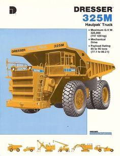 dump trucks brochures and construction on pinterest. Black Bedroom Furniture Sets. Home Design Ideas