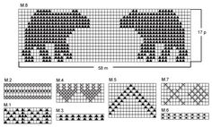 Bear Hug / DROPS Extra 0-444 - Ilmaiset neuleohje DROPS Designilta Fair Isle Knitting Patterns, Christmas Knitting Patterns, Bead Loom Patterns, Knitting Charts, Stitch Patterns, Scarf Patterns, Free Knitting, Knitting Bear, Loom Knitting