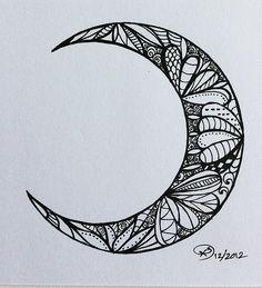 lunar cycle tattoo - Google Search