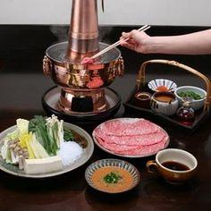 Shabu-shabu Hot Pots