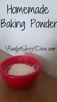 1 teaspoon baking soda  2 teaspoons cream of tartar  1 teaspoon corn starch (optional)  What To Do  Mix the baking soda and cream of tartar together until well combined.    Use immediately.  Use the corn starch to be able to store the baking powder for 6 months.  Makes 1 Tablespoon