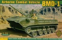 BMD-1 - Ace Models 72114 - Maquette - English