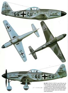 Me 309 . This would be the replacement for the ME 109 . A couple of prototypes where ready by 1941 , - but due to technical problems , - and the fact that Hitler was certain - that the war in Russia would be finist in late 1941 , did that the ME 309 never got to the production line ...