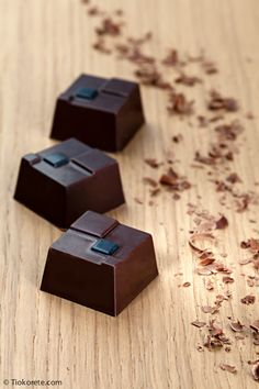 Cioccolatini Tiokorete: Cioccolato fondente