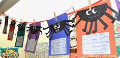Step into 2nd Grade with Mrs. Lemons: Spider Week 2013