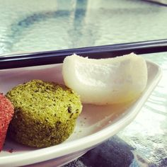 #China #Dessert - Schoko, Grüntee und ... ?    #shenzhen #süßes #chopsticks