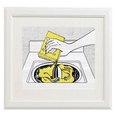 Check out this item at One Kings Lane! Roy Lichtenstein, Washing Machine