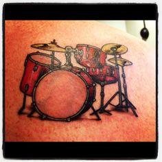 Drum tattoo