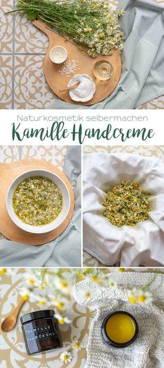 Naturkosmetik selber machen: Kamillenblüten Handcreme - Leelah Loves The Body Shop, Make Natural, Diy Beauté, Dyi, Crafts For Teens To Make, Kids Crafts, Makeup For Teens, Natural Cosmetics, Diy Makeup