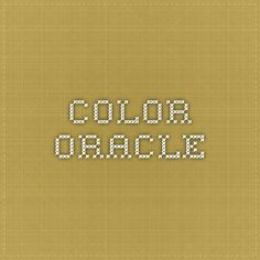 Color Oracle - Color Blindness simulator