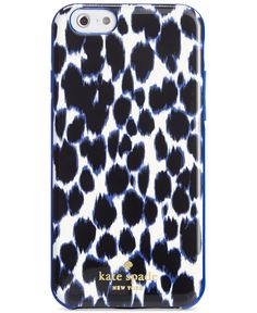 kate spade new york Leopard Print iPhone 6 Case - Handbags & Accessories - Macy's