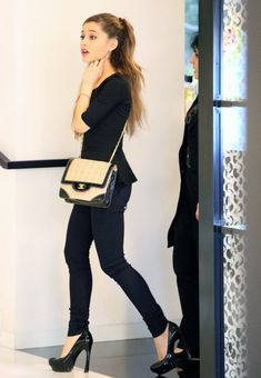 Ariana Grande Chanel Hat Shopping - http://oceanup.com/2014/01/18/ariana-grande-chanel-hat-shopping/