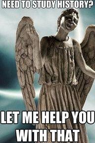 Angel humor. Haha... Ha... Ha. No.