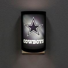 Dallas Cowboys MotiGlow LED Night Light. Order from  >>> bjsportstore.com