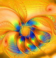 """""""Shine On"""" fractal art by Amanda Moore"""