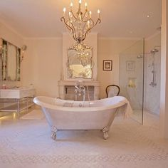 A bathroom fit for a queen.