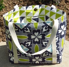 Handmade women's Emily lined shoulder or tote by HectorsHouseCraft, £20.00