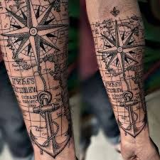 Image result for tattoos maritimas