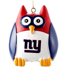 "New York Giants 2.5"" Owl Ornament - $7.99"