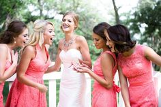 From getting ready to getting down on the dance floor, here are some must-have wedding photos that you'll definitely want to take with your bridesmaids!