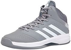 adidas Performance Men's Isolation 2 Basketball Shoe, Grey/White/Grey, 13 M US Baskets, Best Basketball Shoes, Adidas Shoes, Girls Shoes, Grey And White, Fitness, Men's Shoes, Athletic Shoes, Ankle