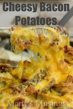Cheesy Bacon Potatoe
