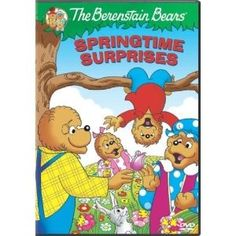 The Berenstain Bears: Springtime Surprises - Age 3 and up - DVD - This video collection finds the beloved Berenstain Bears celebrating springtime with baseball, soccer, and spring flowers. The episodes focus on themes such as the importance of honesty and the wonders of nature.
