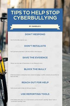 Tips To Help Stop Cyberbullying