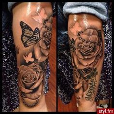 The latest information from the world of stars, fashion, beauty, hairstyles. Thanks to the article … – Rose Tattoos Dope Tattoos For Women, Tattoos For Women Flowers, Tattoos For Women Half Sleeve, Shoulder Tattoos For Women, Best Sleeve Tattoos, Arm Tattoos For Women, Girly Sleeve Tattoo, Foot Tattoos Girls, Forearm Sleeve Tattoos