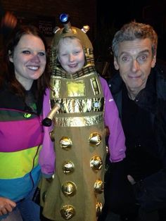 Young Doctor Who fan was worried that a new Doctor meant she could no longer join in on the adventures, but Peter Capaldi reassures her that she still can