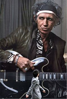 You see 'keith richards.'  I see 'Pirates of the Caribbean - Rockin the High Sees'