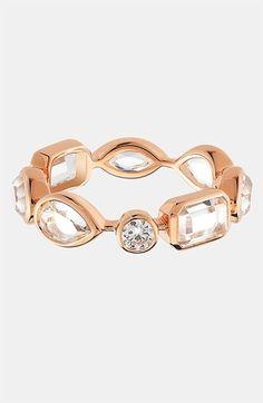 Mixed cut ring.