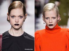 Paris Fashion Week: Beauty-Trends Fall-Winter 2016-2017.Twiggy-style eyelashes