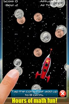 (*** http://BubbleCraze.org - Like Android/iPhone games? You'll LOVE Bubble Craze! ***)  Rocket Math Free