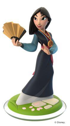 Mulan - Disney Infinity - Toy Sculpt, Ian Jacobs on ArtStation at https://www.artstation.com/artwork/mulan-disney-infinity-toy-sculpt