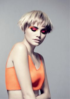 Sassoon DOWNTOWN | ACADEMY COLLECTION Creative Direction: Mark Hayes Haircuts: Bruce Masefield and the Sassoon Creative Team-pin it by carden