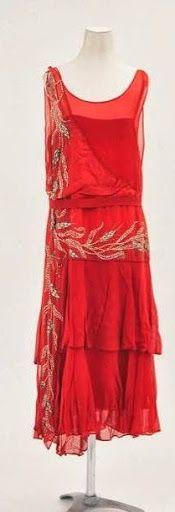 1920's Flapper dress - Bunka Gakuen Costume Museum - @~ Mlle